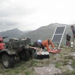 Building a new radio repeater station, 2013
